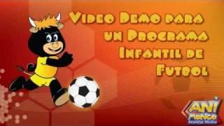 Video Demo para un Programa infantil de Fútbol