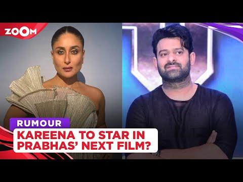 Kareena Kapoor Khan to star opposite Prabhas in his upcoming film, Spirit?