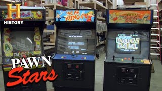 Pawn Stars: 1980s Japanese Arcade Games (Season 4) | History
