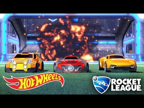 First Look: New Hot Wheels Cars in Rocket League (Exclusive Gameplay) | Hot Wheels