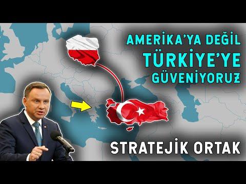 Amerika'ya Değil Türkiye'ye Güveniyoruz! Polonya'dan Şok İtiraf!
