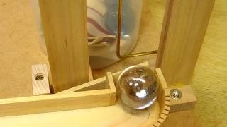 Ball elevator by mangle gear