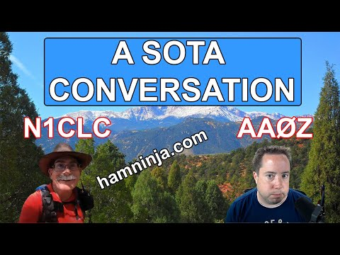 A Conversation with Christian Claborne (N1CLC) and SOTA!