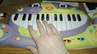 Roundabout Cat Piano Cover