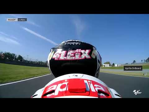 French GP: Aprilia OnBoard