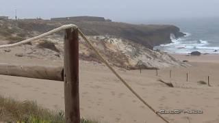 Praia da Cresmina e estrutura abandonada 8 de Julho de 2017