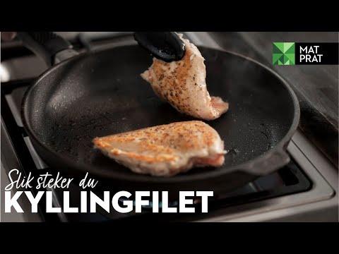 MatPrat: Slik steker du kyllingfilet