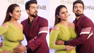 Huma Qureshi Looking So Big & Hot in Tight Green Gown width=