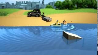 LEGO® City SUV with Watercraft 60058