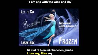 Frozen - Let it Go (Libre Soy) (Karaoke) (Instrumental: Javier Anibarro Z.)
