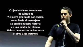 Canserbero Las Animas (letra)