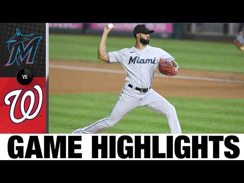 Marlins vs. Nationals Game Highlights (9/13/21) | MLB Highlights