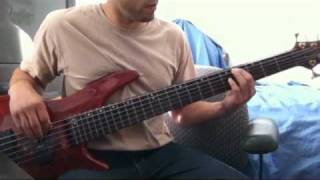 Israel Vibration Livity in the Hood  Dub Version  Bass COver