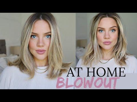 No Salon, No Problem..SLEEK, BIG HAIR AT HOME | Elanna Pecherle 2020