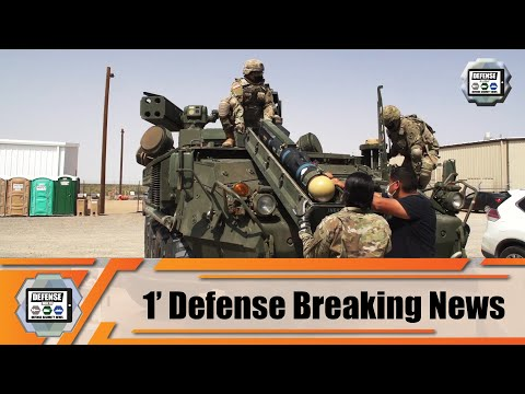 US soldiers conduct first operational tests with Initial Maneuver Short Range Air Defense IM-SHORAD