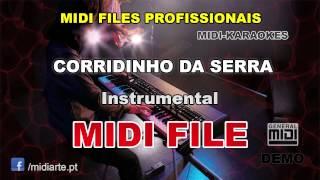 ♬ Midi file  - CORRIDINHO DA SERRA - Instrumental