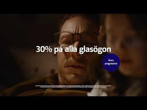 30% på alla glasögon