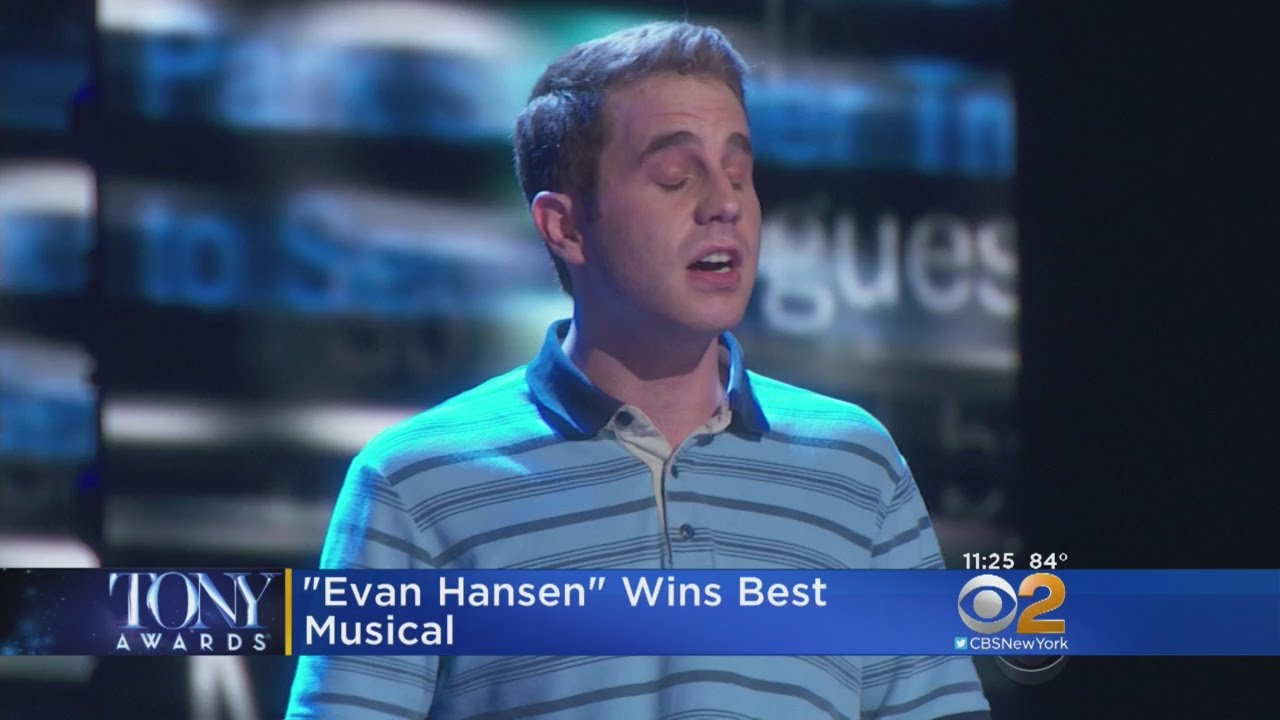 Dear Evan Hansen Musical In Buffalo This Month