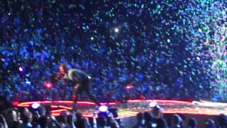 "Coldplay - ""In My Place"" HD Live at the IZOD Center in East Rutherford, NJ 8/4/12"