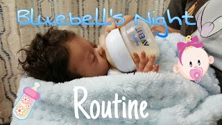 Preemie baby Doll Night Routine! Preemie Life Like Doll! Realistic Baby Doll! Nlovewithreborns2011