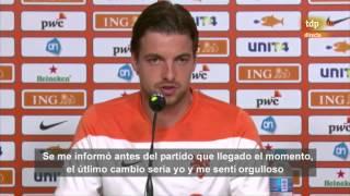 Portero de Holanda en los penaltis contra Costa Rica - Mundial 2014