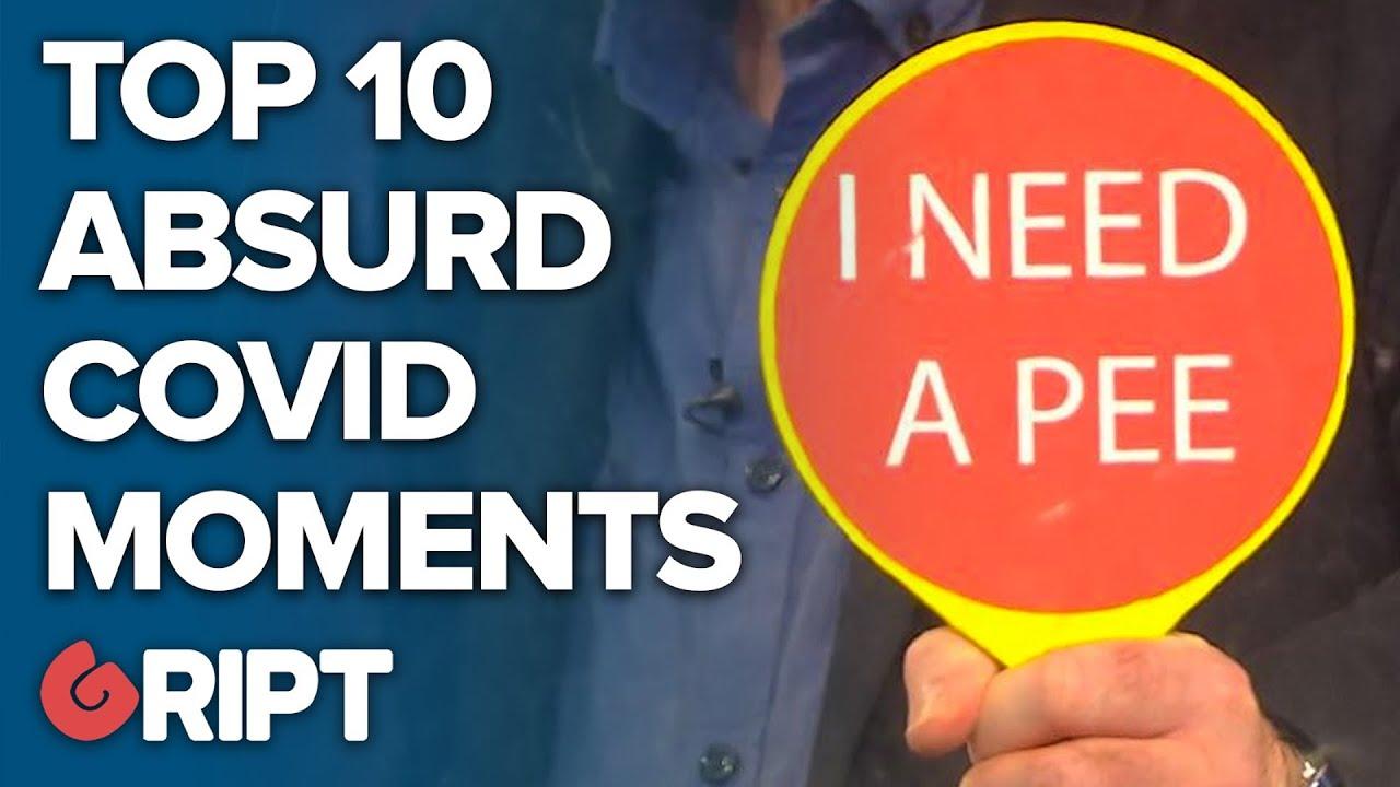 Top 10 most Absurd Irish Covid Moments