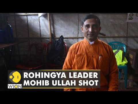 Unidentified man shoot Rohingya leader Mohib Ullah   Latest World English News  WION News  WION