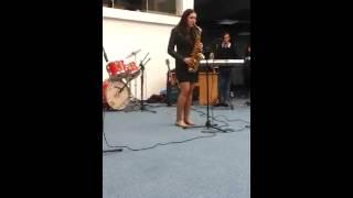The lonely shepherd (saxophone alto)