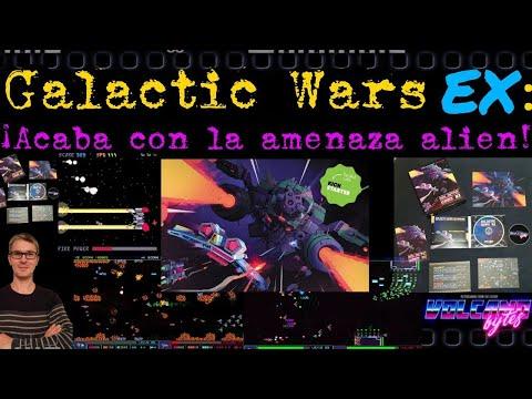 Zona Indie: Galactic Wars EX (Volcano Bytes) Unboxing y primeras partidas