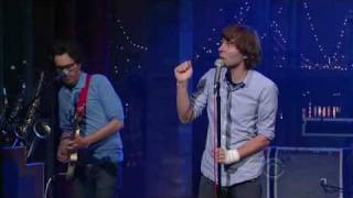 Phoenix - 1901 (Live on Letterman) 18 Juin 2009