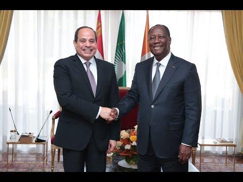 Visite officielle de S.E.M. Abdel Fattah AL-SISI, Président de la République Arabe d'Égypte