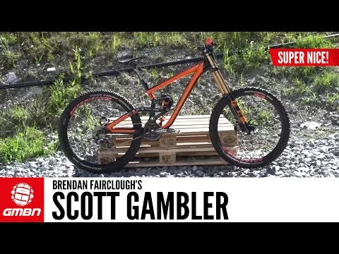 Brendan Fairclough's Scott Gambler | GMBN Pro Bike