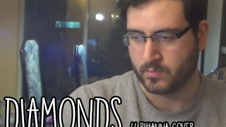Diamonds // Acoustic Rihanna Cover (Sia) // Johnny Salib