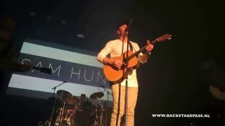 Backstage Pass NL - Concert Snippets: Sam Hunt - Speakers, 15 March Amsterdam, NL