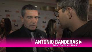 Antonio Banderas on the Red Carpet for The Skin I Live In