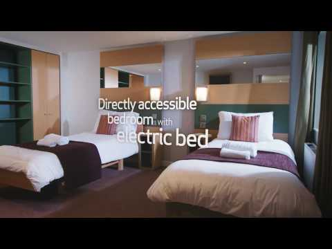 Center Parcs accommodation  - Adapted Lodge
