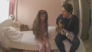 Anzin : Vianney chante pour Emma, aveugle et atteinte d'une maladie rare