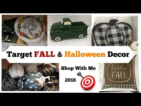 FALL TARGET SHOP WITH ME , FALL DOLLAR SPOT | Farmhouse Decor | Halloween | Momma From Scratch