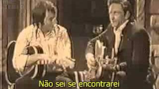 Johnny Cash - Solitary Man legendado