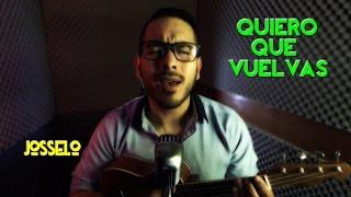 Alejandro Fernández - Quiero Que Vuelvas (Ukulele Cover)