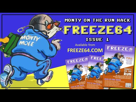 Monty on the Run (Gremlin Graphics) hack on the Commodore 64