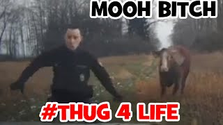 MOOH bitch Get out the way bitch, funny Thug life!