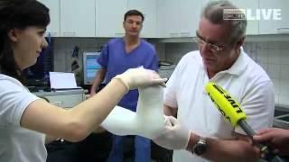Bludenz -- Schisaison bedeutet Hochsaison in Krankenhäusern