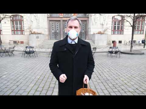 Jak Pražané nosí respirátory? Motivační procházka