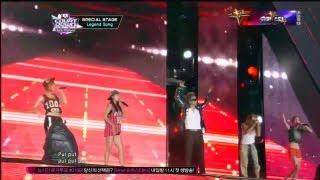 시스타+장우영_Hands up(Hands up by SISTAR+JANG WOO YOUNG @Global Mcountdown 2012.10.11)