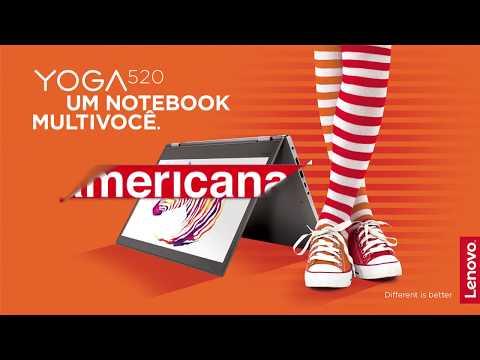 Notebook Lenovo 2 em 1 Yoga 520   Americanas.com