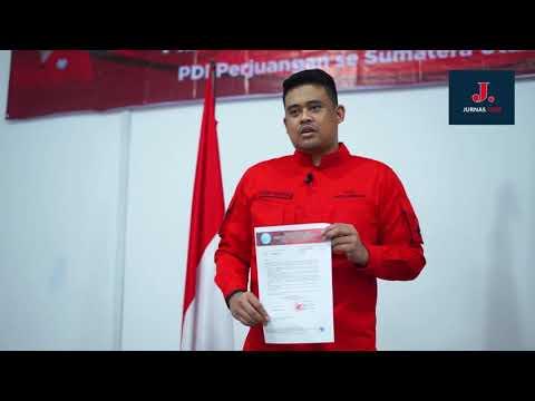 Bobby Nasution Sampaikan Terima Kasih dan Janji Calon Wali Kota Medan