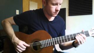 Nightcall for classical guitar + TAB