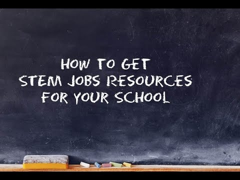 STEM Jobs Video Submissions Guidelines
