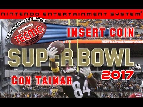 Tecmo Super Bowl 2017 con Taimar - NES - Patriots vs Falcons